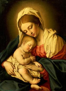the-madonna-and-child-il-sassoferrato